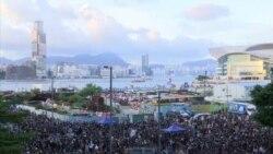 В день годовщины передачи Гонконга Китаю в городе вновь вспыхнули протесты