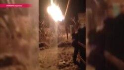 Снаряд попал в жилой дом в Авдеевке – ЭКСКЛЮЗИВ
