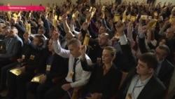 """Бывший лидер """"Азова"""" возглавил новую партию: """"Мы хотим прийти к власти мирным путем"""""""