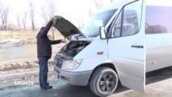 Сотни водителей маршруток Бишкека не вышли на работу в знак протеста