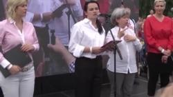 В Минске прошел рекордный по числу участников митинг в поддержку Светланы Тихановской