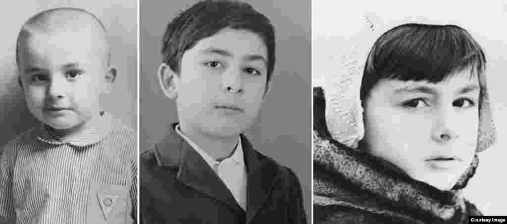 Детские снимки Михаила Саакашвили, бывшего президента Грузии и бывшего главы Одесской области Украины