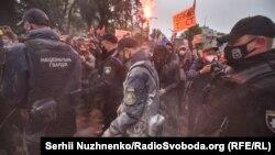 Протест за отставку Арсена Авакова в Киеве. 5 июня