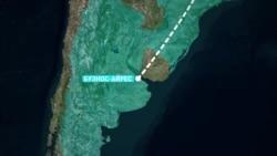 Как самолет Cessna 750 летел в Аргентину и обратно