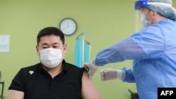 Вакцинация в Улан-Баторе