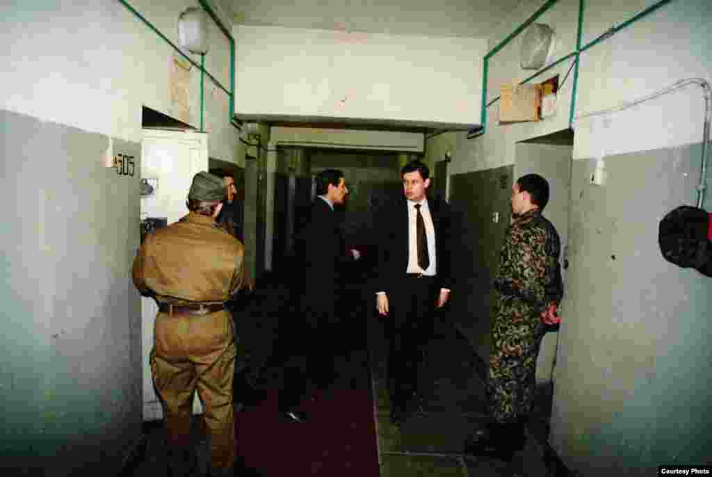 Тюрьма, в которой содержались арестованные члены ГКЧП.