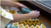 Granny knitting teaser