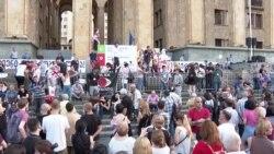 Кто организует протесты в Грузии