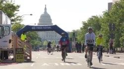 35 километров, 1 день и ноль машин – в Вашингтоне прошел ежегодный велофестиваль