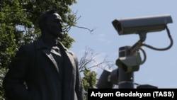 Памятник Дзержинскому, который раньше стоял на Лубянке у здания ФСБ