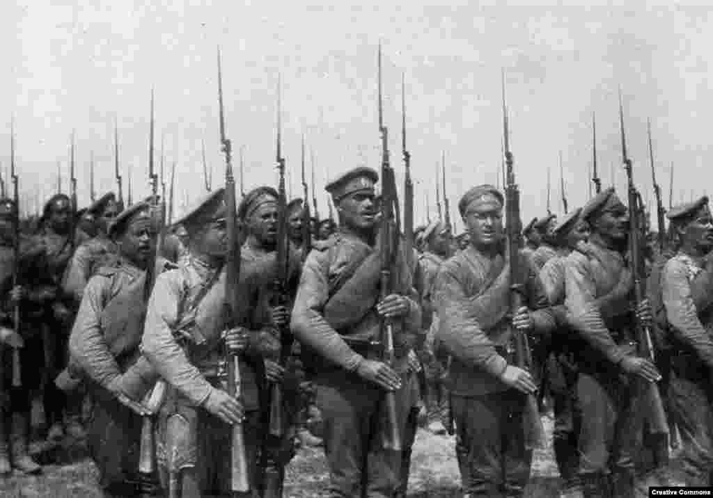Русская пехота.