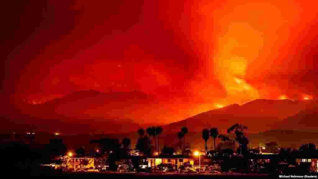 Американский штат Калифорния в этом году охватил один из сильнейших пожаров за последние несколько лет – за неделю произошло 630 возгораний