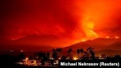 Земля в огне: крупнейшие лесные пожары 2017