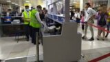 Tajik passenger in Bishkek airport