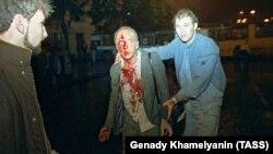 События в Москве во время попытки государственного переворота в августе 1991 года