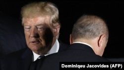 Дональд Трамп и Реджеп Эрдоган, 27 июня 2019