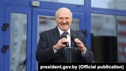 Александр Лукашенко на предвыборном митинге в Гомеле 21 июля 2020 года