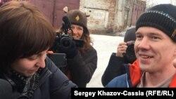26 февраля Дадина освободили из колонии №5 в городе Рубцовск Алтайского края