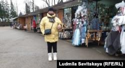 Мария Никифорова на Соборной площади