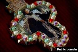 Драгоценный медальон с портретом Хайле Селассие