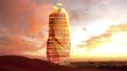 Вертикальный город в Сахаре