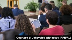 "Jehovah's Witnesses have been labelled as ""extremist"" in Russia and the Supreme Court has banned the denomination. (file photo)"