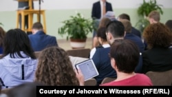 The Russian Supreme Court has banned the Jehovah's Witnesses as an extremist organization. (file photo)