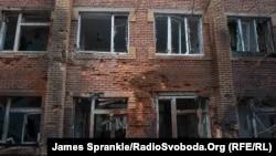 Донецкий госпиталь после обстрела