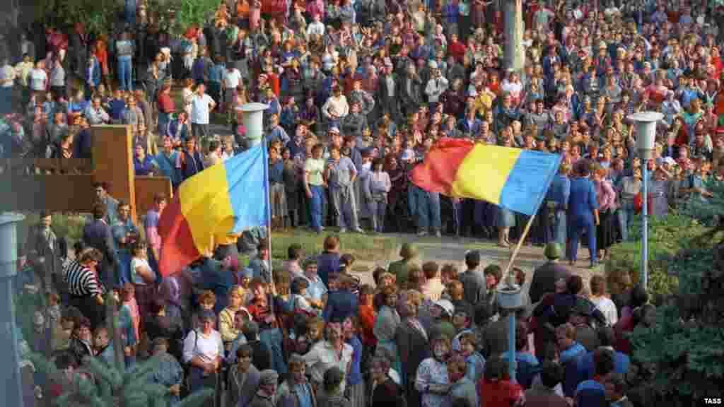 Столкновения в городе Дубоссары между сторонниками и противниками отделения Приднестровья от Молдовы, 1 октября 1991 года