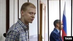 Владимир Подрезов в зале суда 10 сентября 2015