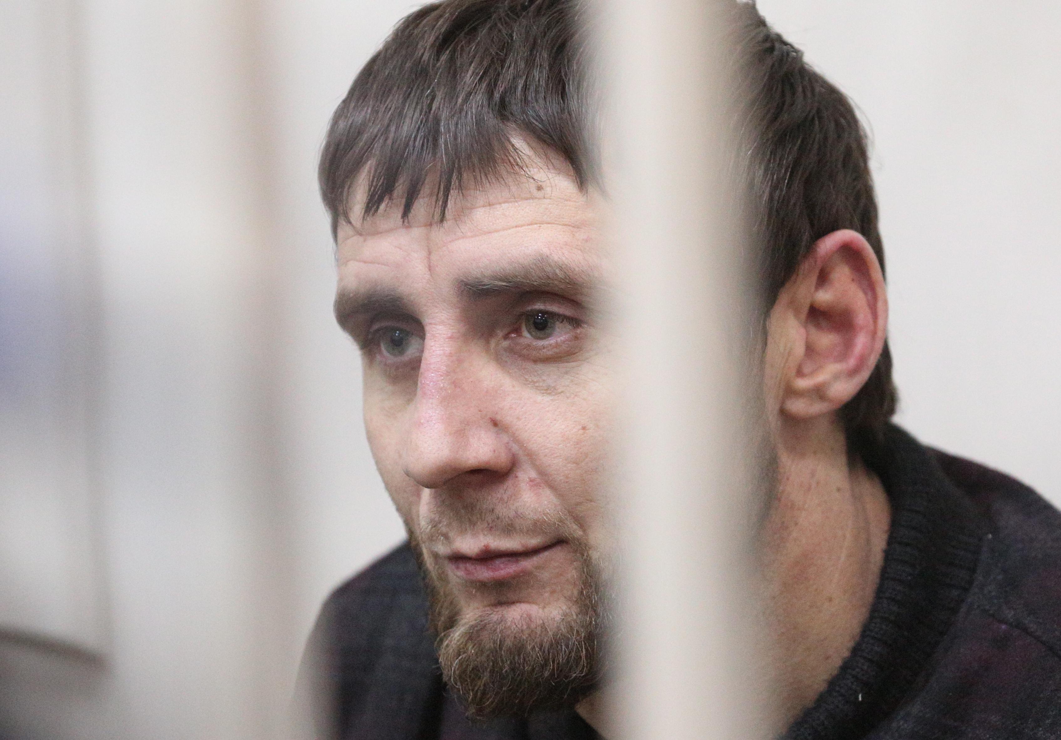 Заур Дадаев в Басманном суде Москвы. Фото: ТАСС