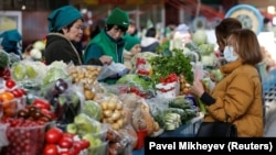 Рынок в Казахстане