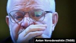 Председатель Совета при президенте РФ по развитию гражданского общества и правам человека Михаил Федотов на заседании Совета судей России, 2 декабря 2014 года