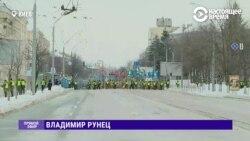 В Киеве Нагвардия перекрыла подходы к посольству РФ и не пускает никого, кроме дипломатов
