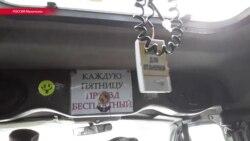 """Водитель маршрутки в Махачкале возит пассажиров бесплатно, """"во имя Аллаха"""""""