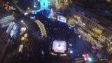 Новый год на Софийской площади в Киеве