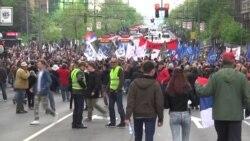 Протесты в Сербии: шестой день