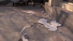 За несколько минут до перемирия. Донецк 14 февраля