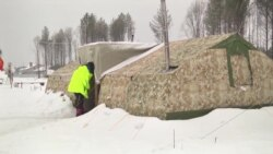Очередной пикет против строительства полигона для московского мусора на Шиесе
