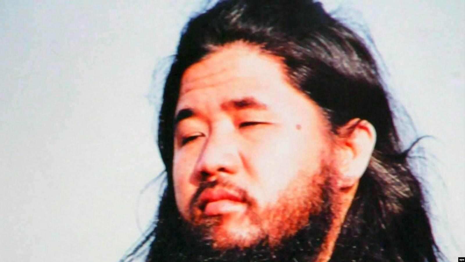 """Основатель """"Аум Сенрикё"""" Сёко Асахара, о казни которого власти Японии сообщили в июле 2018 года. Фото: EPA"""