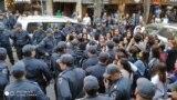 Протест в Баку. 20 октября