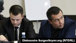 Курбединов и юрист Айдер Азаматов
