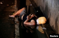 Труп филиппинца, предположительно замешанного в наркоторговле. Убит неизвестными