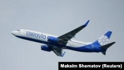 """Самолет Национальной белорусской авиакомпании """"Белавиа"""""""