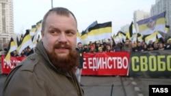 Дмитрий Демушкин на митинге, Москва, 4 ноября 2014