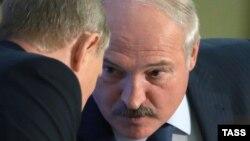 Путин и Лукашенко (сентябрь 2015, Сочи)