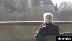 Пожилой мужчина в Берне