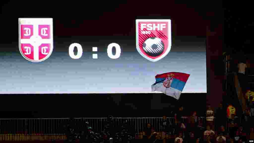 На данный момент непонятно, кто несет ответственность за появление беспилотного летательного аппарата над футбольным полем, однако сербские газеты обвинили в случившемся брата премьер-министра Албании