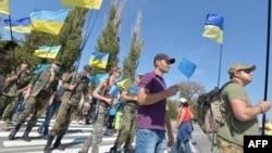 Блокада Крыма со стороны Украины