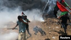 Первые лица и десятки убитых. Как в Иерусалиме открывали американское посольство